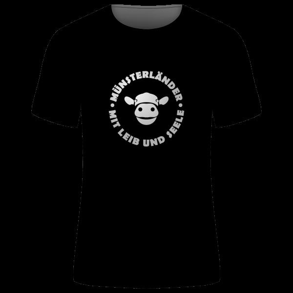 """Unisex T-Shirt """"Münsterländer - Mit Leib und Seele"""""""