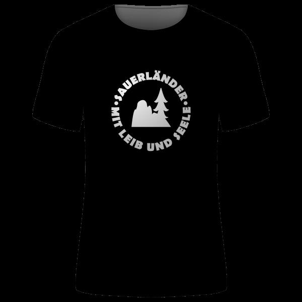 """Unisex T-Shirt """"Sauerländer - Mit Leib und Seele"""""""